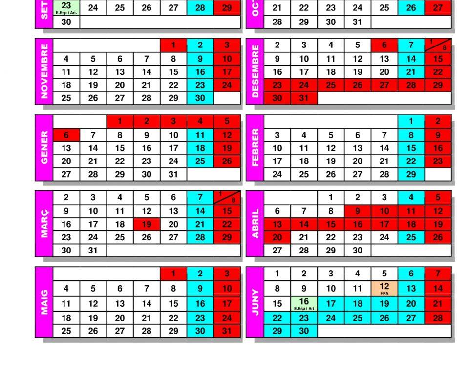Calendario Escolar 2019 2020 Valencia.Comunicados Archivos Fapa Alicantefapa Alicante